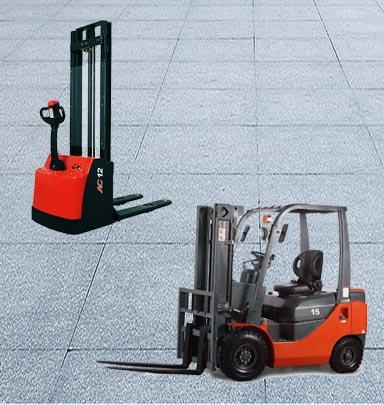 叉车案例:电动叉车/电动堆高车
