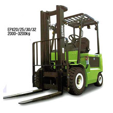 平衡重电动叉车_2-3.2吨平衡重电动叉车_武汉中明工业设备