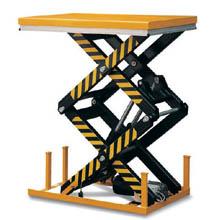 常规升降平台_1-4吨双剪电动升降平台_武汉中明工业设备