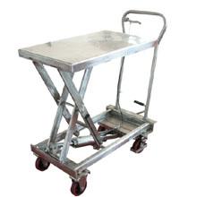 脚踏升降平台车_0.1-0.5不锈钢家庭升降平台_武汉中明工业设备