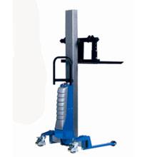 电动工位车_260公斤单立柱半电动工位_武汉中明工业设备