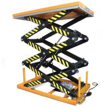 常规升降平台_1-2吨三剪电动升降平台_武汉中明工业设备