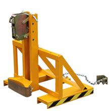 油桶搬运夹_重型单鹰嘴油桶搬运夹_武汉中明工业设备