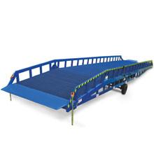 移动登车桥_6-12吨移动式登车桥_武汉中明工业设备