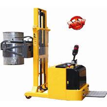 油桶搬运车_平衡重式全电动油桶翻转_武汉中明工业设备