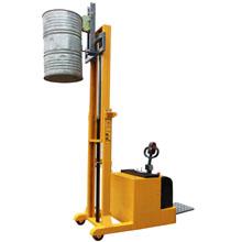 油桶搬运车_平衡重式全电动油桶堆高_武汉中明工业设备