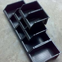 零件盒_防静电零件盒_武汉中明工业设备