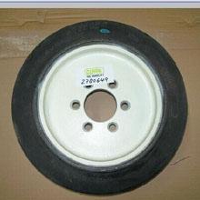 橡胶轮胎_转向轮_武汉中明工业设备