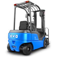 平衡重叉车_1.6-1.8吨平衡重锂电池叉车_武汉中明工业设备