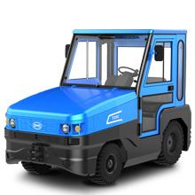 牵引车_25吨座式驾锂电池牵引车_武汉中明工业设备